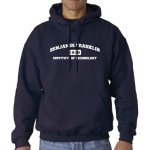 Navy BFIT Hooded Sweatshirt